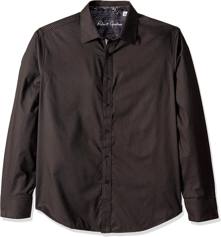 Robert Graham Men's Hearst L Woven trend rank S Shirt Ranking TOP10