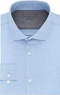 Men's Dress Shirts Xtreme Slim Fit Thermal Stretch Plaid