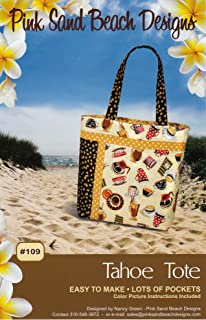 Pink Sand Beach Designs Tahoe Tote Bag Pattern