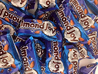 Almond Joy Bars, Milk Chocolate Coconut Filled Snack Size Treats (Pack of 2.5 Pounds)