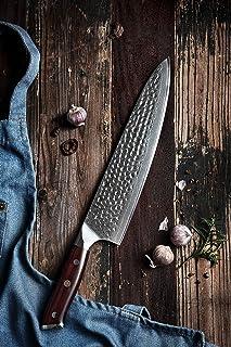 """HEZHEN Couteau de chef 10"""" B13Z10CS"""