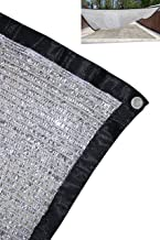 Jesasy 70% 10 ft x 20 ft Aluminet Shade Cloth Panels with Grommets