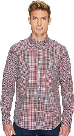 Nautica - Long Sleeve Mini Plaid
