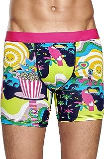 Happy Socks Toucan Men/'s Boxer Trunk Candy Pink