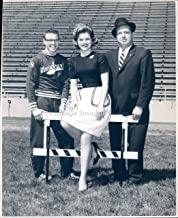Vintage Photos 1962 Photo Patricia Quillen Actress Dale Smith Merrill Carnes Football Sports