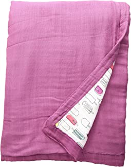 Bebe au Lait Oh So Soft Luxury Muslin Snuggle Blanket