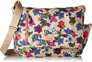 Vera Bradley Lighten Up Laptop Messenger Bag, Polyester