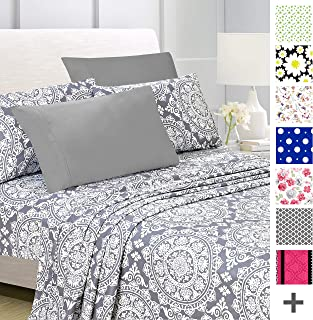 Best printed flat sheets Reviews