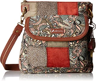 Sakroots womens Artist Circle Flap Crossbody Bag