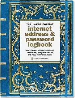 Best large-format internet address & password logbook Reviews