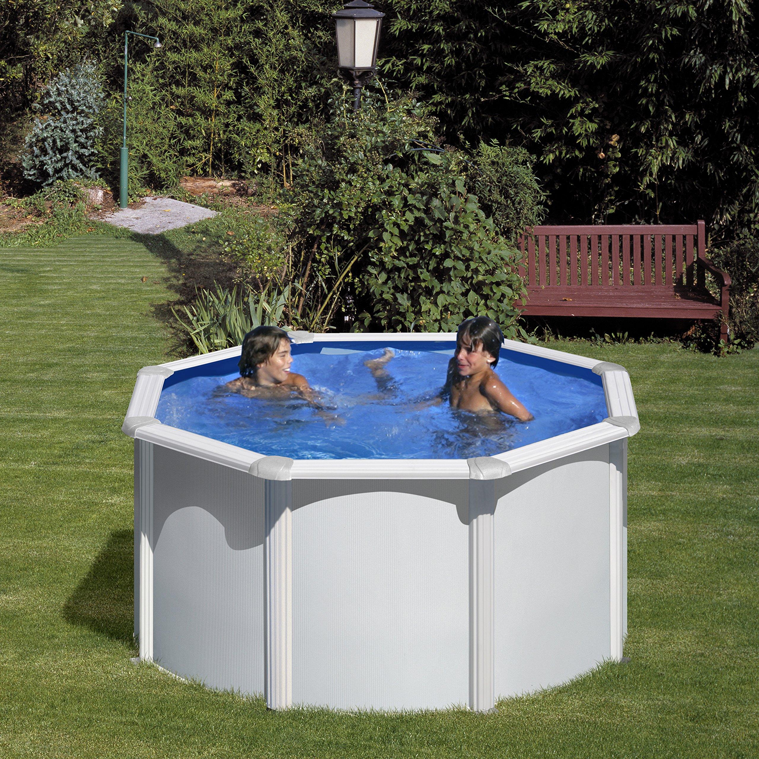 Semienterrar una piscina desmontable