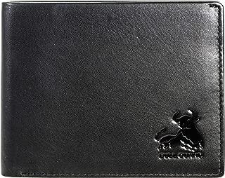 RFID Blocking Wallet For Men Bifold Soft Genuine Vintage Leather