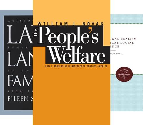 Studies in Legal History (47 Book Series)