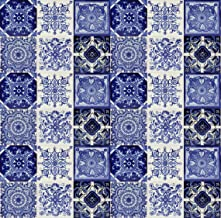 Cerames Tono - Originele 30 kleurrijke tegels uit Mexico, met de hand beschilderd, voor mozaïek, elk ca. 10,5x10,5cm voor ...
