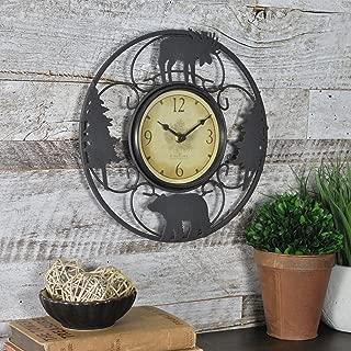 wildlife wall clocks