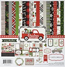 Carta Bella Paper Company CBCD58016 Christmas Delivery Collection Kit