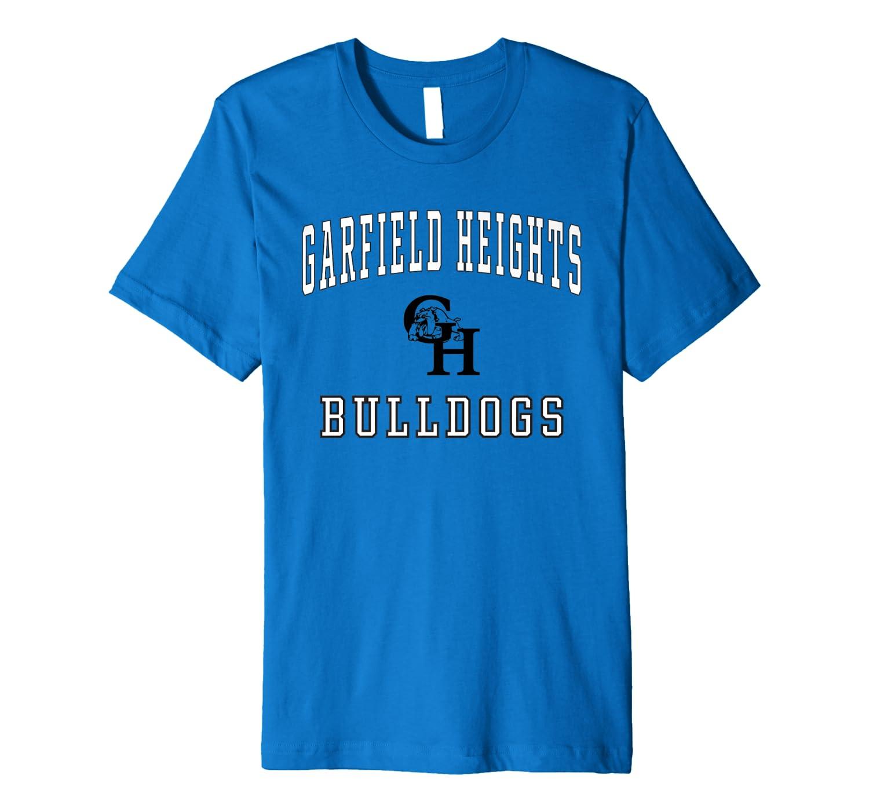 Amazon Com Garfield Heights High School Bulldogs Premium T Shirt C1 Clothing