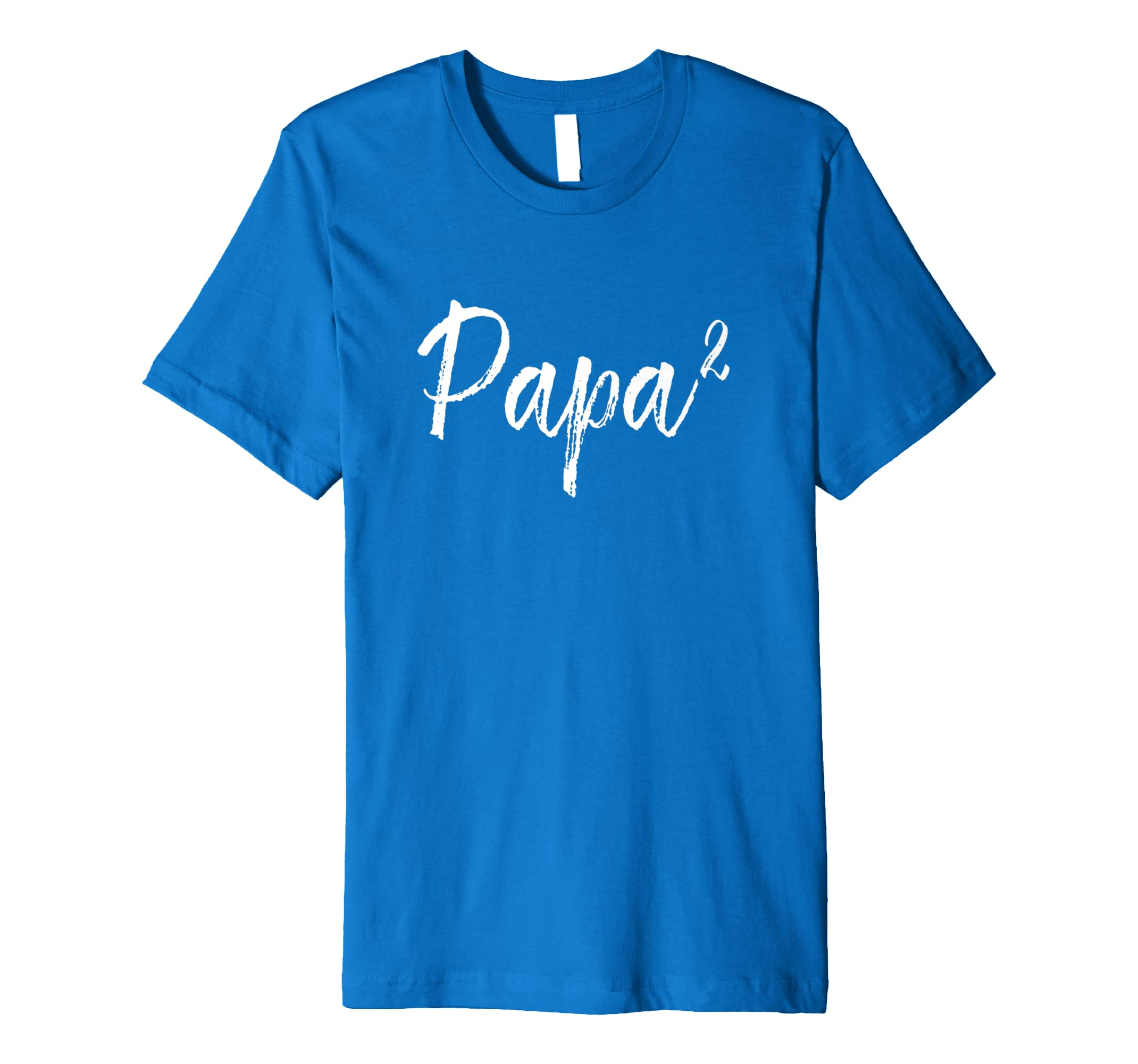 3a4dab31 Amazon.com: Mens Papa Squared Shirt, Dad of 2, Daddy of 2, Fathers Day Gifts:  Clothing