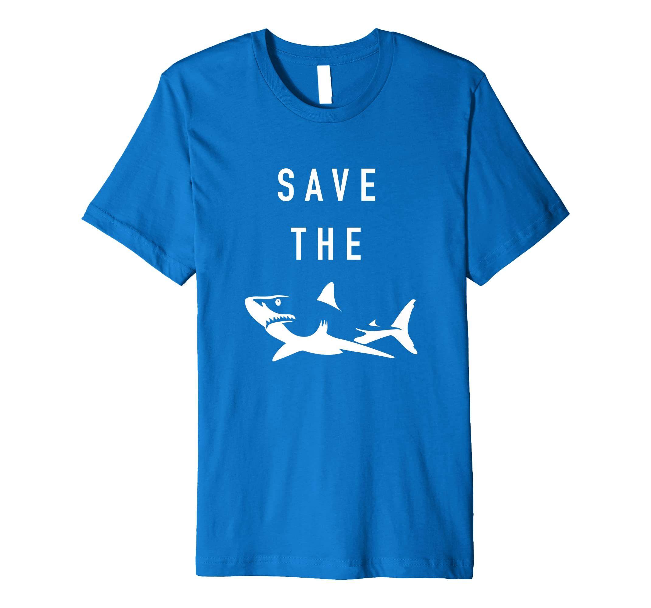 43019924 Amazon.com: Save the Sharks T-Shirt | Ocean Protect Great White Shark:  Clothing