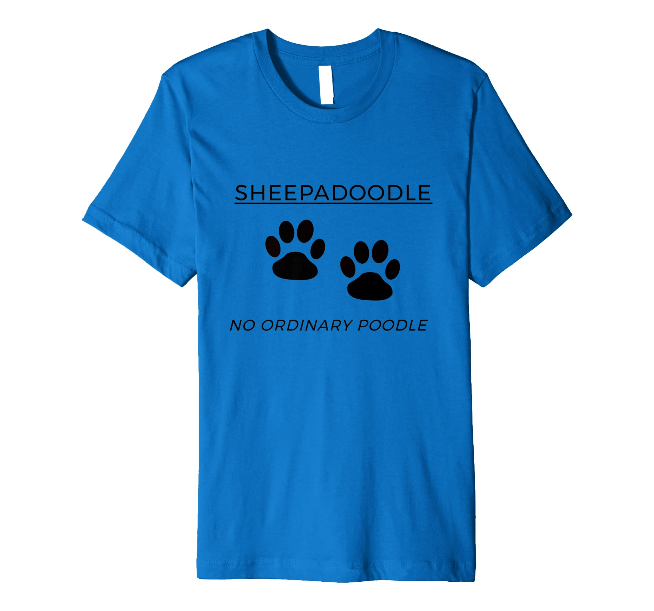Amazon com: SHEEPADOODLE NO ORDINARY POODLE: Clothing
