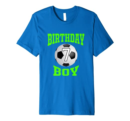Amazon 7th Birthday Boy Shirt
