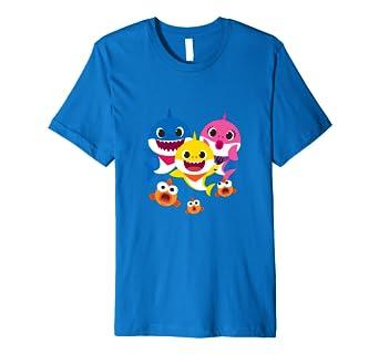 0648fbdb Pinkfong Baby Shark family t-shirt: Amazon.co.uk: Clothing