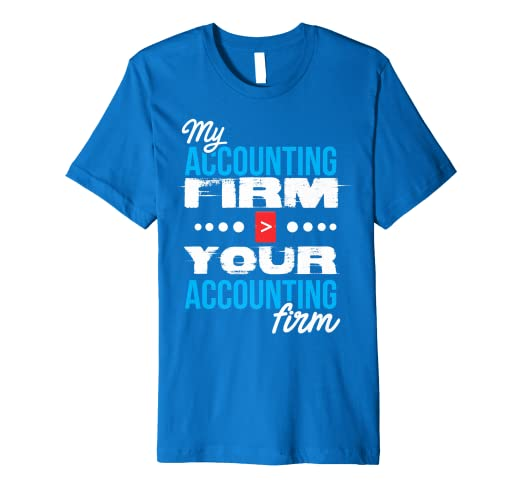 e569f98d Image Unavailable. Image not available for. Color: Accounting Firm Accountant  CPA Bookkeeper Funny Gift T Shirt
