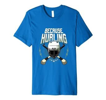ac1d3683bd37d Image Unavailable. Image not available for. Color: Fun Ireland Hurling Gift  T-shirt Love Irish Sports