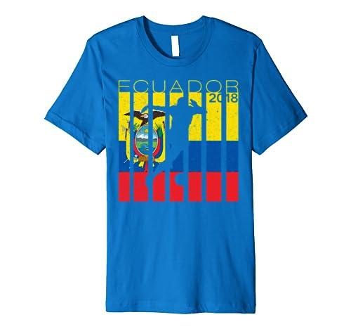 Amazon.com: Camiseta Seleccion Futbol Ecuador 2018 Soccer ...