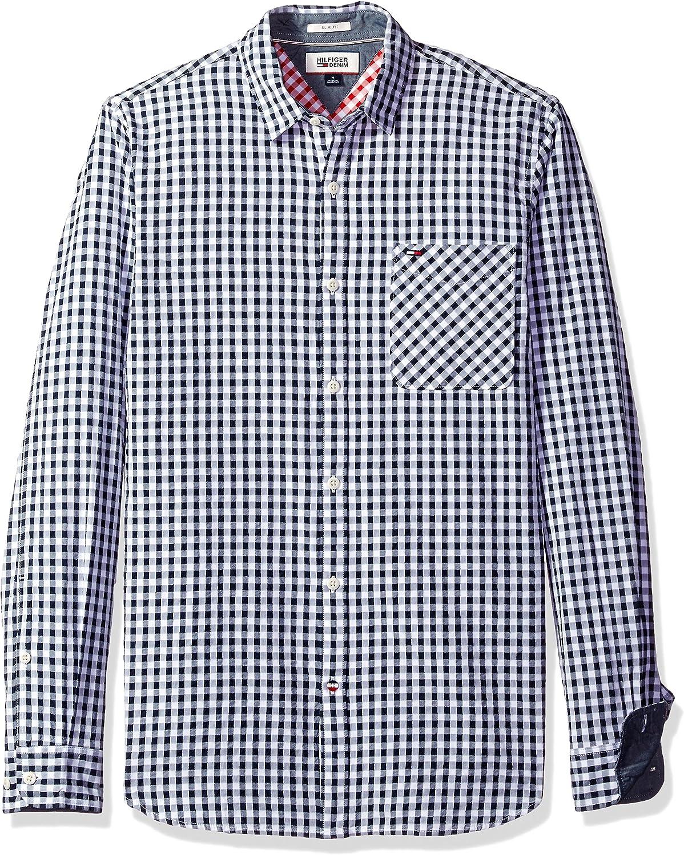 Tommy Hilfiger Denim Men's Seersucker Shirt