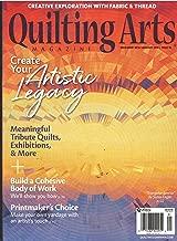 Quilting Arts Magazine December 2018 January 2019