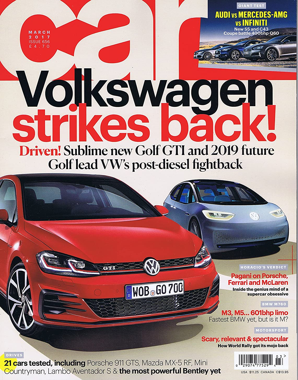 教室教科書濃度Car [UK] March 2017 (単号)