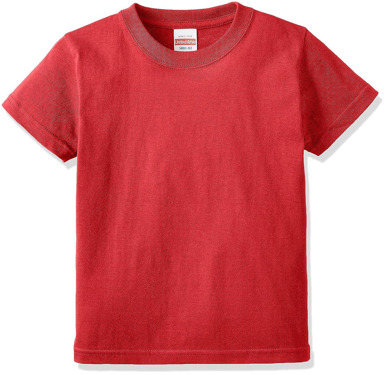 成熟したタイトル引き算(ユナイテッドアスレ)UnitedAthle 5.6オンス ハイクオリティー Tシャツ 500102 [キッズ]