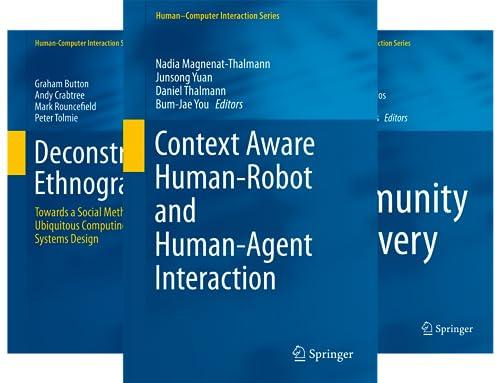 Human–Computer Interaction (51-100) (50 Book Series)