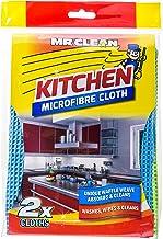 Mr Clean Microfibre Kitchen Cloth, 2ct