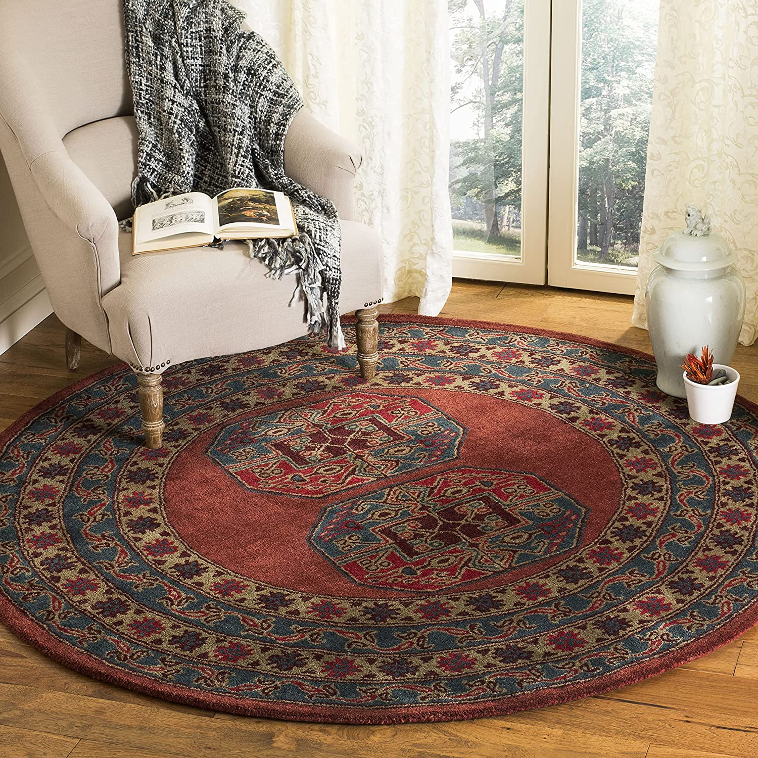 Safavieh Heritage Collection Free shipping on posting reviews Max 44% OFF HG919Q Handmade Orienta Traditional