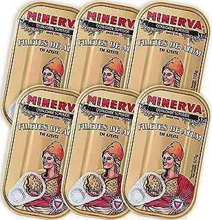 Minerva Thunfischfilets in Olivenöl 6 x 120 g - reich an Om