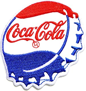 Coca Cola Coke Soft Drink Logo Symbol Jacket T-shirt Patch Sew Iron on Embroidered Sign Badge Costume Clothing
