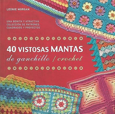 Libro: 40 MANTAS PARA GANCHILLO