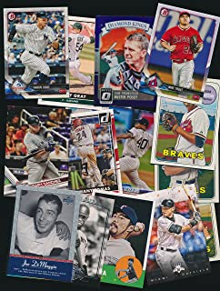 Lot of 100 Modern Baseball Cards - Instant Collection with Cards from 2018 including Stars and Rookies