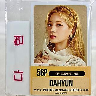 DAHYUN ダヒョン - TWICE トゥワイス グッズ / フォト メッセージカード 56枚 (ミニ ポストカード 56枚) + ネームプレート (名札) セット - Photo Message Card 56pcs (Mini Post Card 56pcs) + Name Plate [TradePlace K-POP 韓国製]