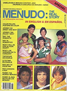 Tiger Beat Star Special Presents Menudo: The Real Story (Volume 1, Number 1)