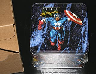 1992 Marvel Masterpieces Series I Collector's Card TIN, Joe Jusko, Factory Sealed