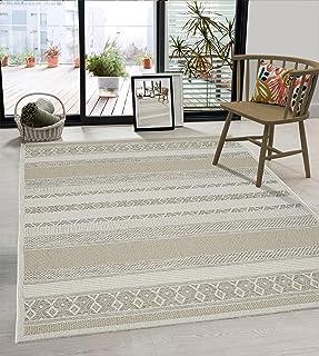 the carpet Calgary Tapijt voor binnen en buiten, plat weefsel, modern design, trendy kleuren, supervlak, UV- en weerbesten...