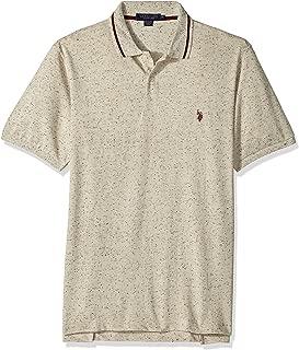 U.S. Polo Assn. Men's Classic Fit Solid Short Sleeve Pique Polo Shirt