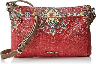 Desigual Bols_polaris_toulouse, Women's Cross-Body Bag, Red (Teja), 1x17x26 cm (B x H T)