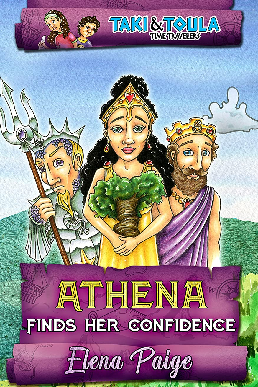 ヒントむき出し退院Athena Finds Her Confidence (Taki & Toula Time Travelers Book 2) (English Edition)