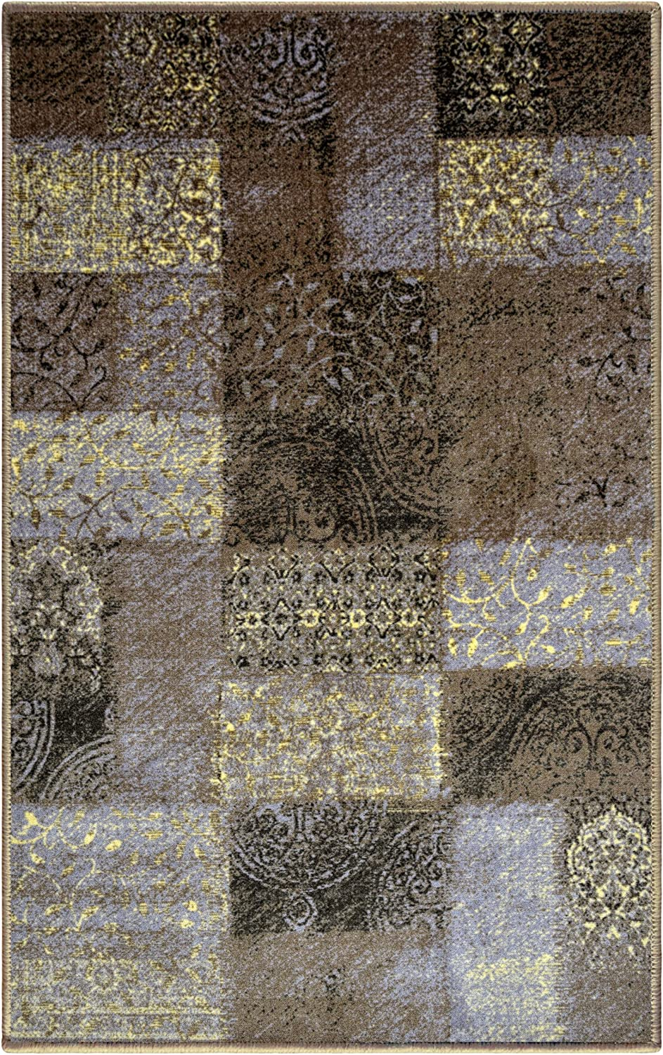 Superior Non-Slip Hadley Indoor Our shop OFFers the best service Area Rug 9' Washable Beige x