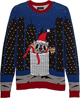Blizzard Bay Men's Ugly Christmas Sweater Light Up