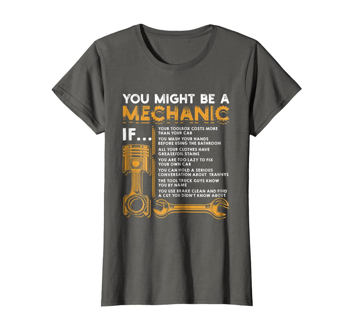 You Might Be A Mechanic If T-Shirt Funny Mechanic Gifts